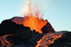 Effusive eruption